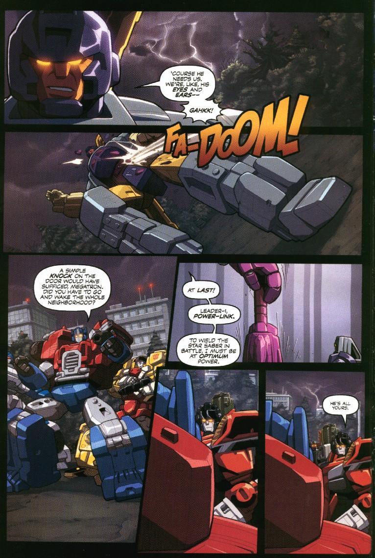 Read online Transformers Armada comic -  Issue #7 - 16