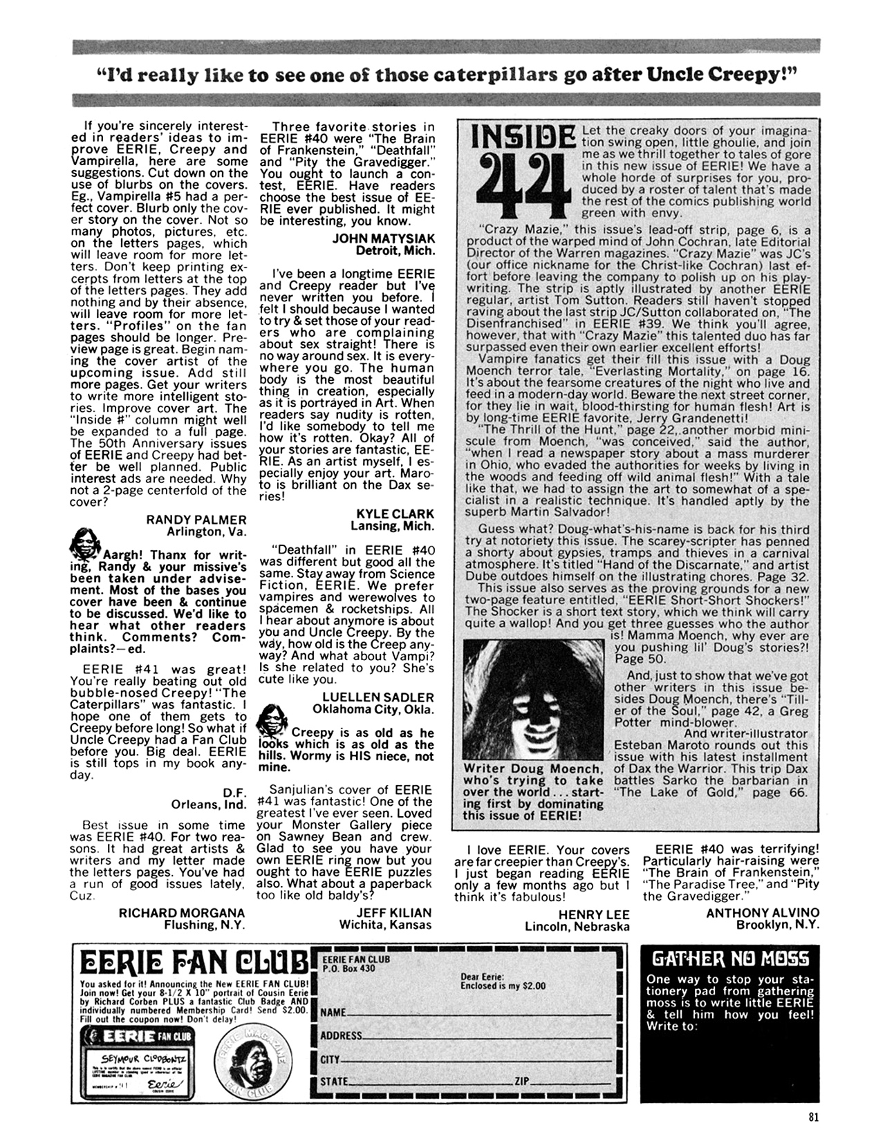 Read online Eerie Archives comic -  Issue # TPB 9 - 82