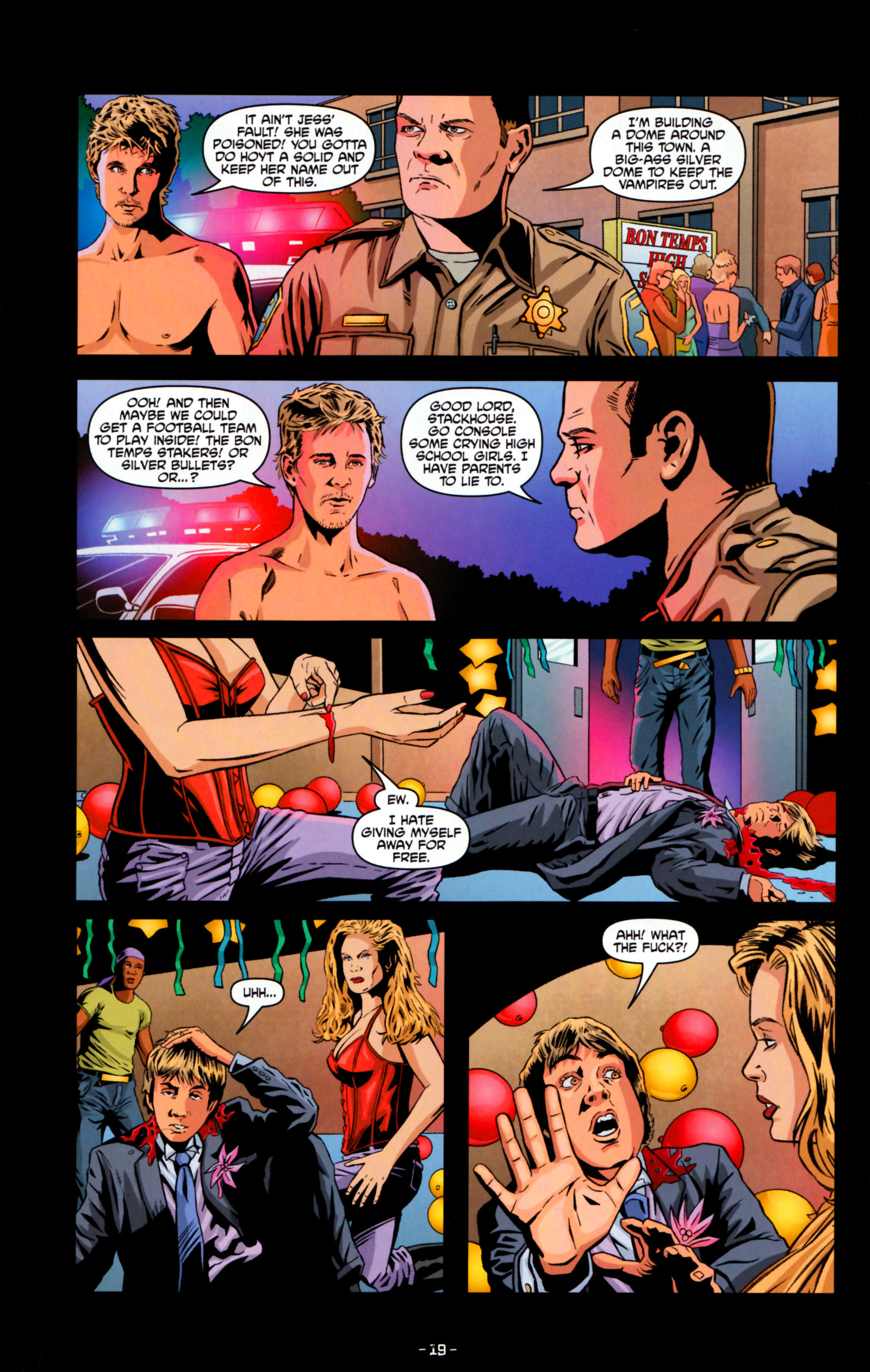 Read online True Blood: Tainted Love comic -  Issue #5 - 22