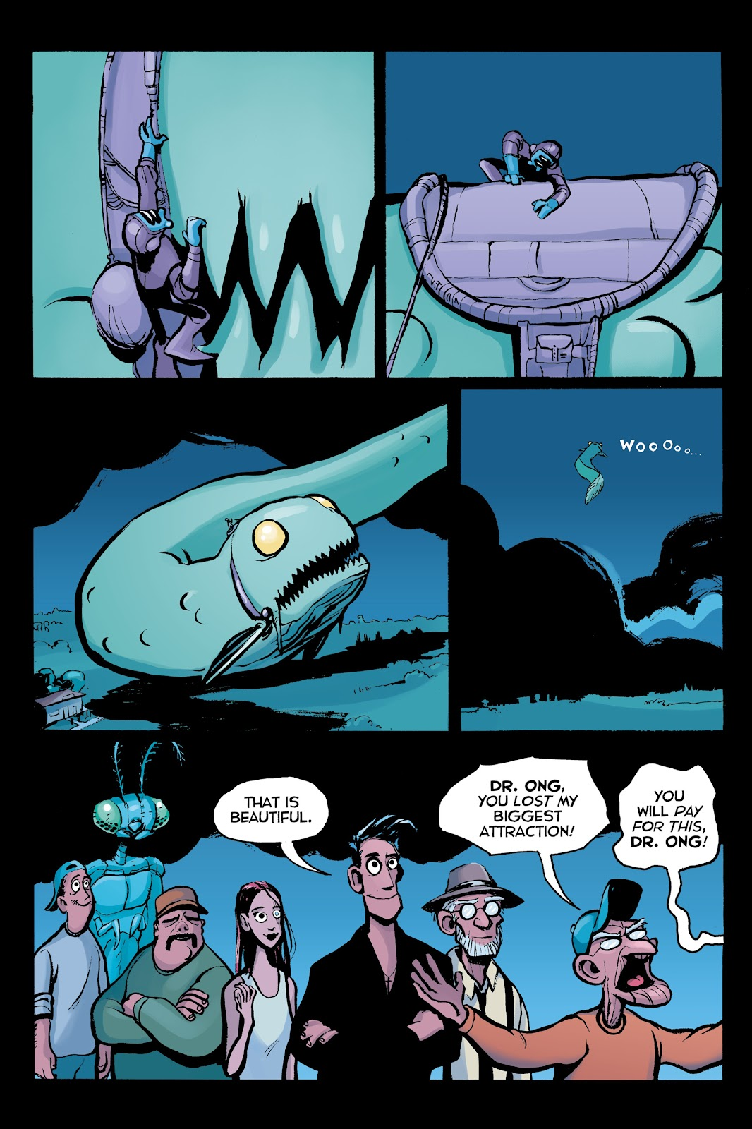 Read online Creature Tech (2019) comic -  Issue # TPB (Part 2) - 91