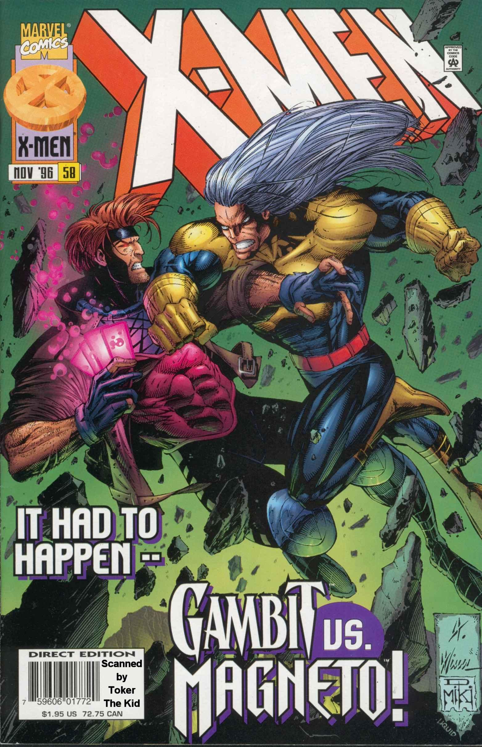 X-Men (1991) 58 Page 0