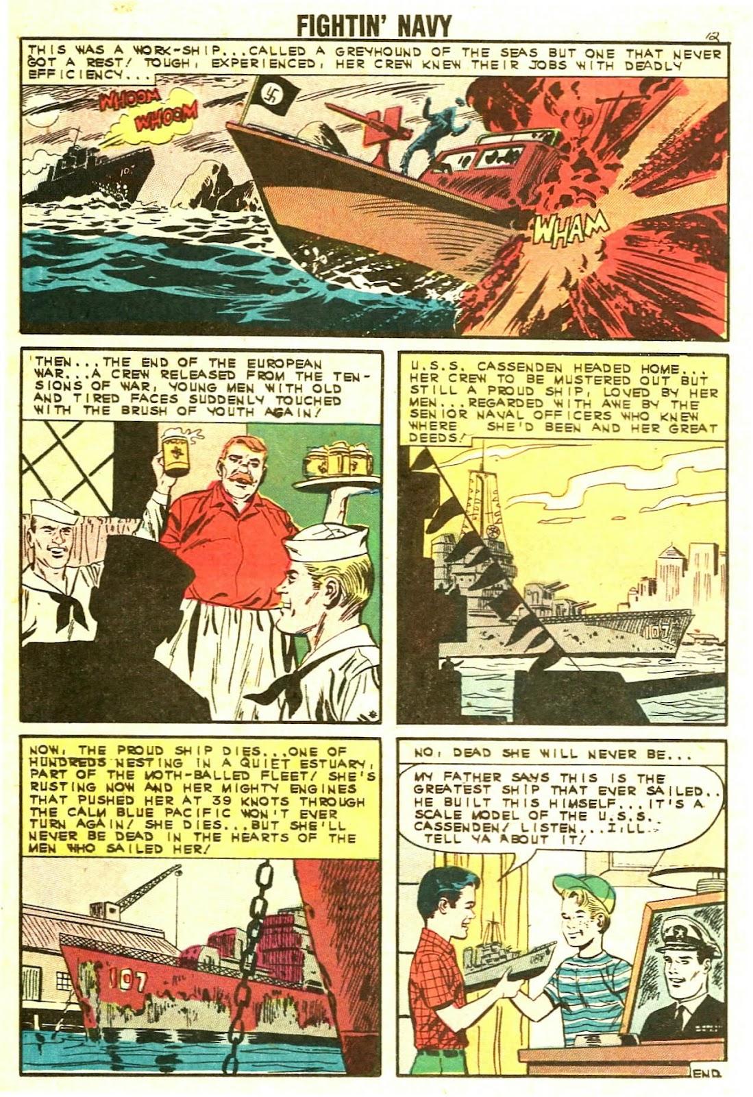 Read online Fightin' Navy comic -  Issue #110 - 14