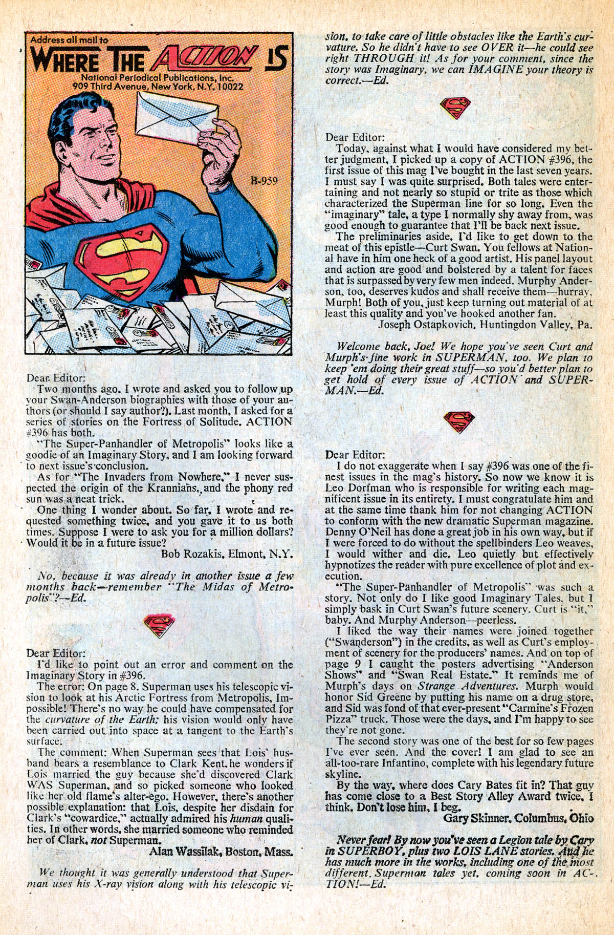 Read online Action Comics (1938) comic -  Issue #400 - 21
