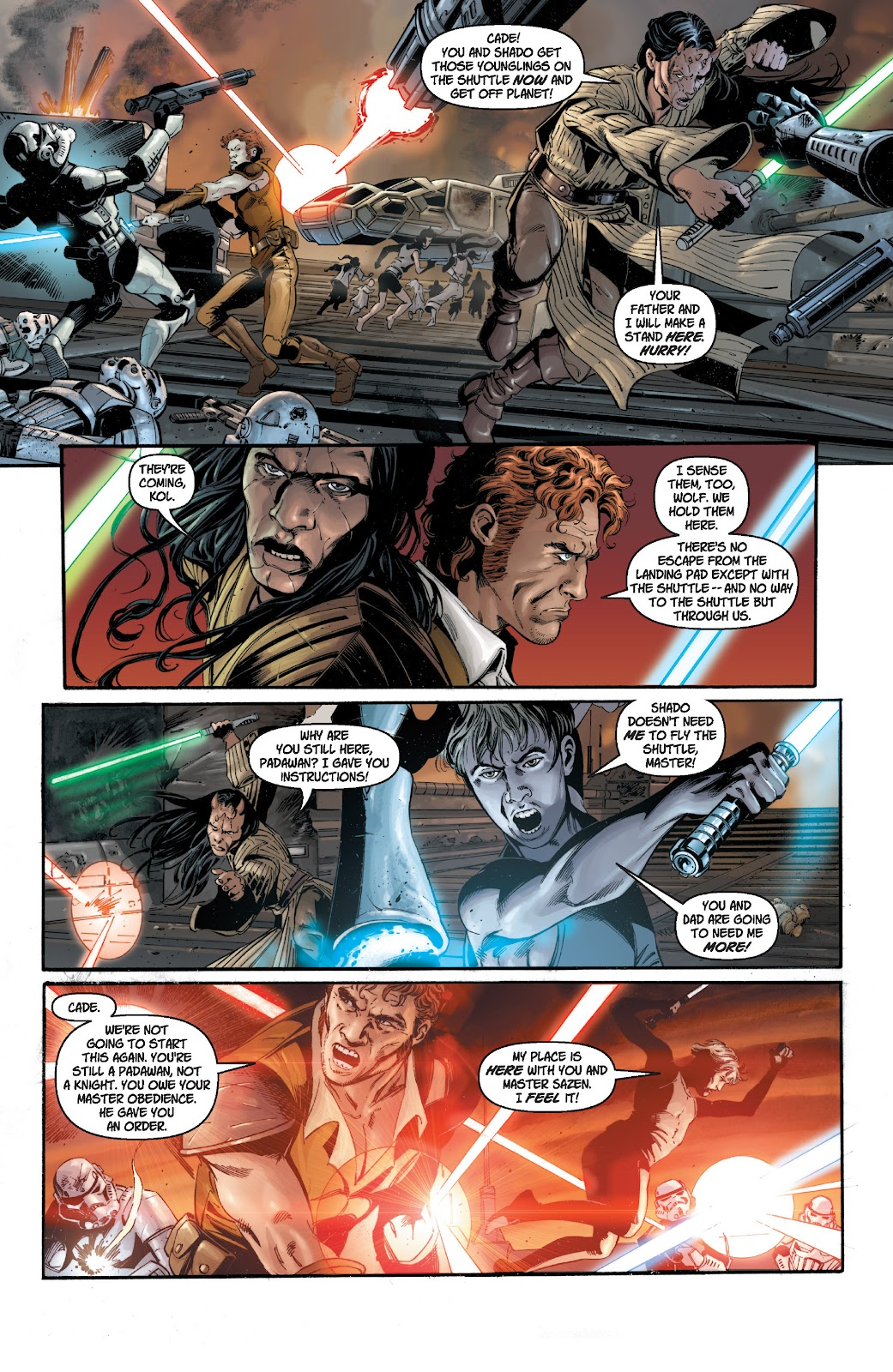 Read online Star Wars Legends: Legacy - Epic Collection comic -  Issue # TPB 1 (Part 1) - 8