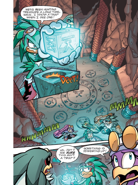 Read online Sonic Comics Spectacular: Speed of Sound comic -  Issue # Full - 149