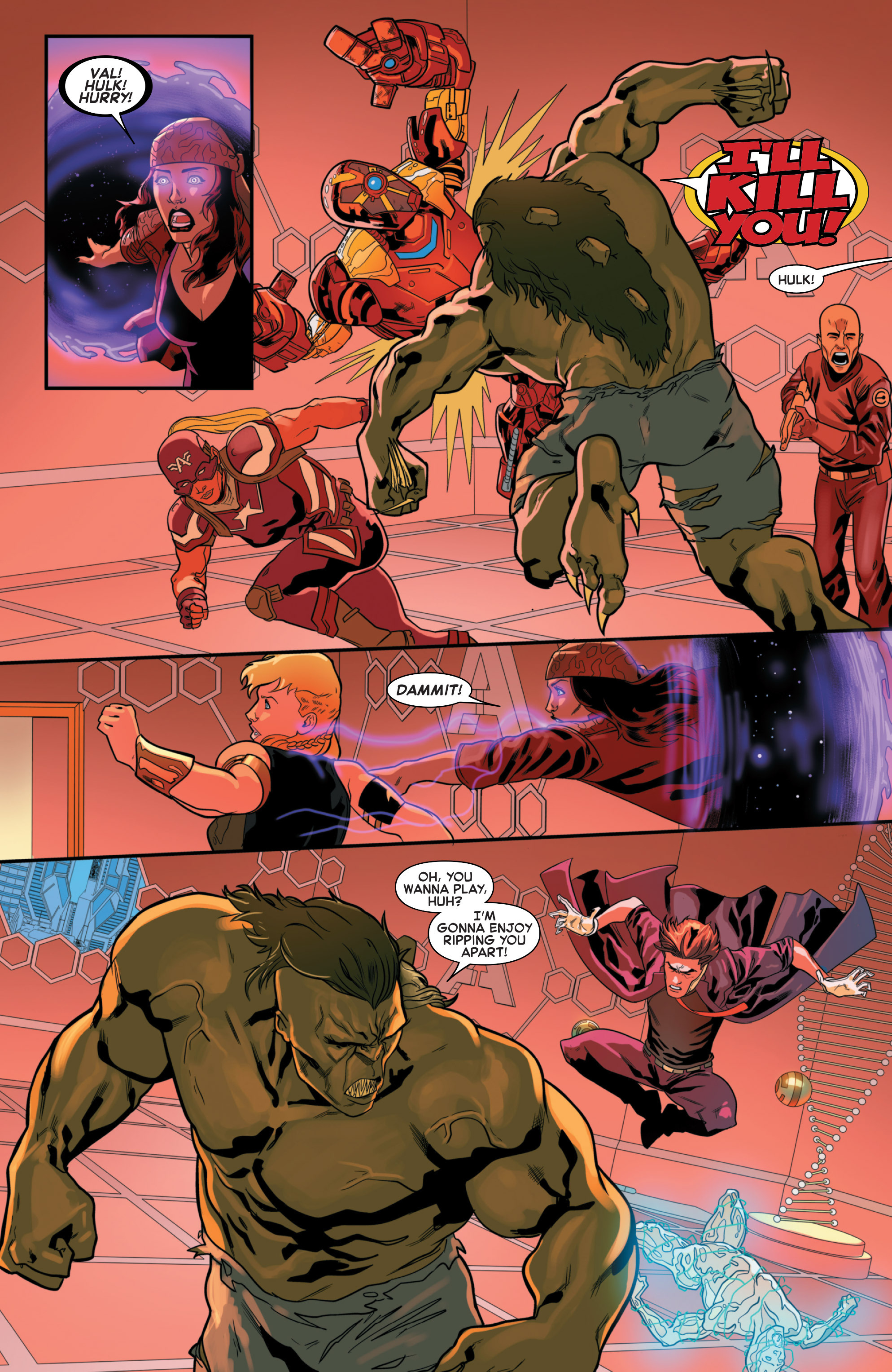 Read online Secret Wars 2099 comic -  Issue #3 - 21