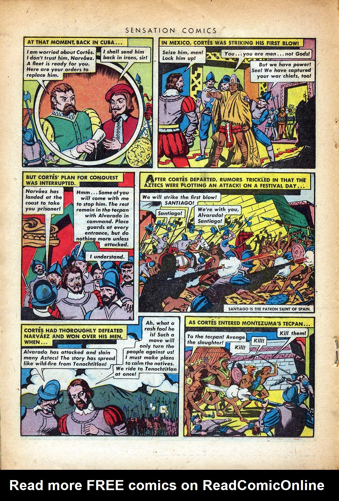 Read online Sensation (Mystery) Comics comic -  Issue #37 - 26