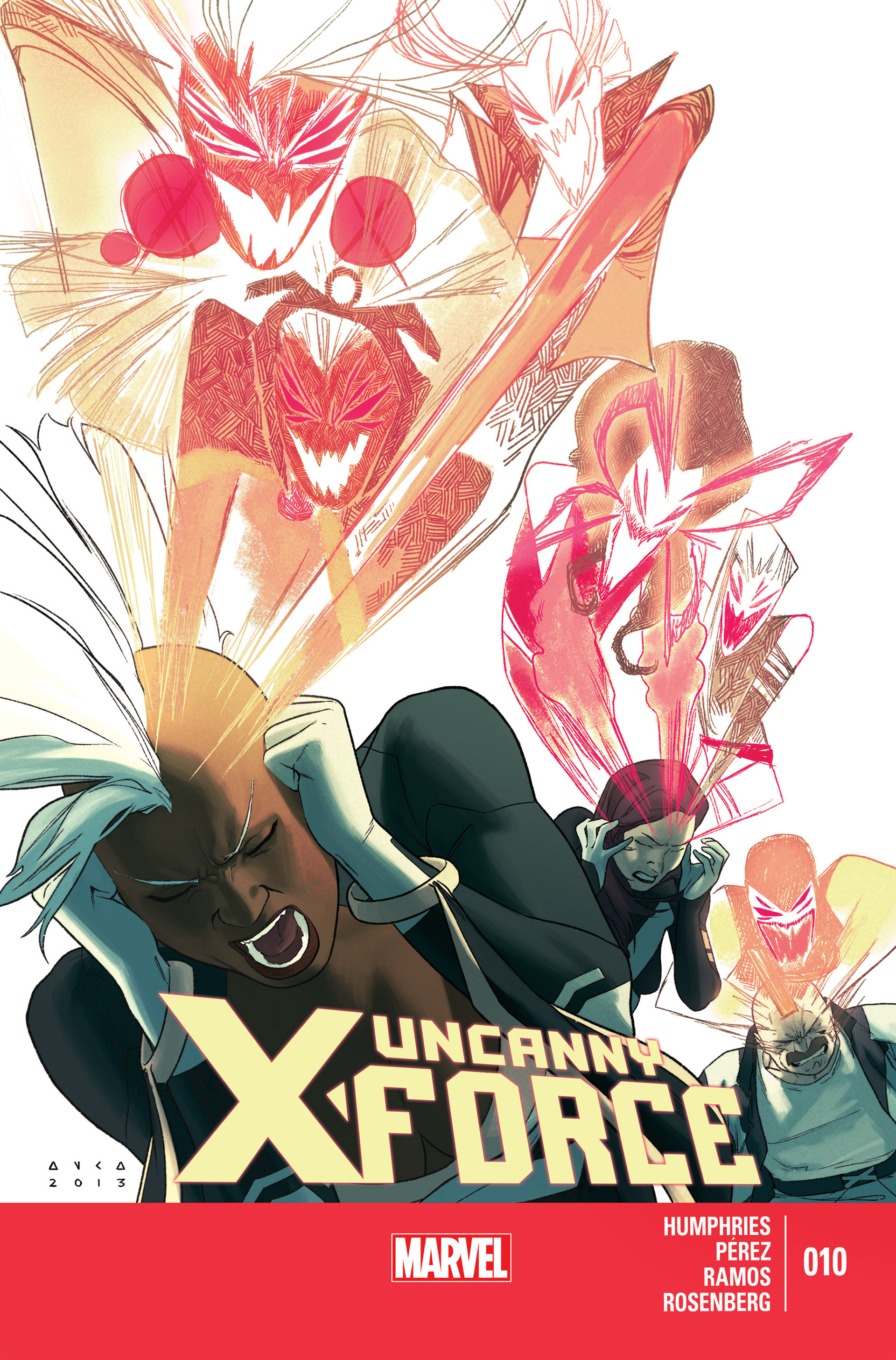Read online Uncanny X-Force (2013) comic -  Issue #10 - 1