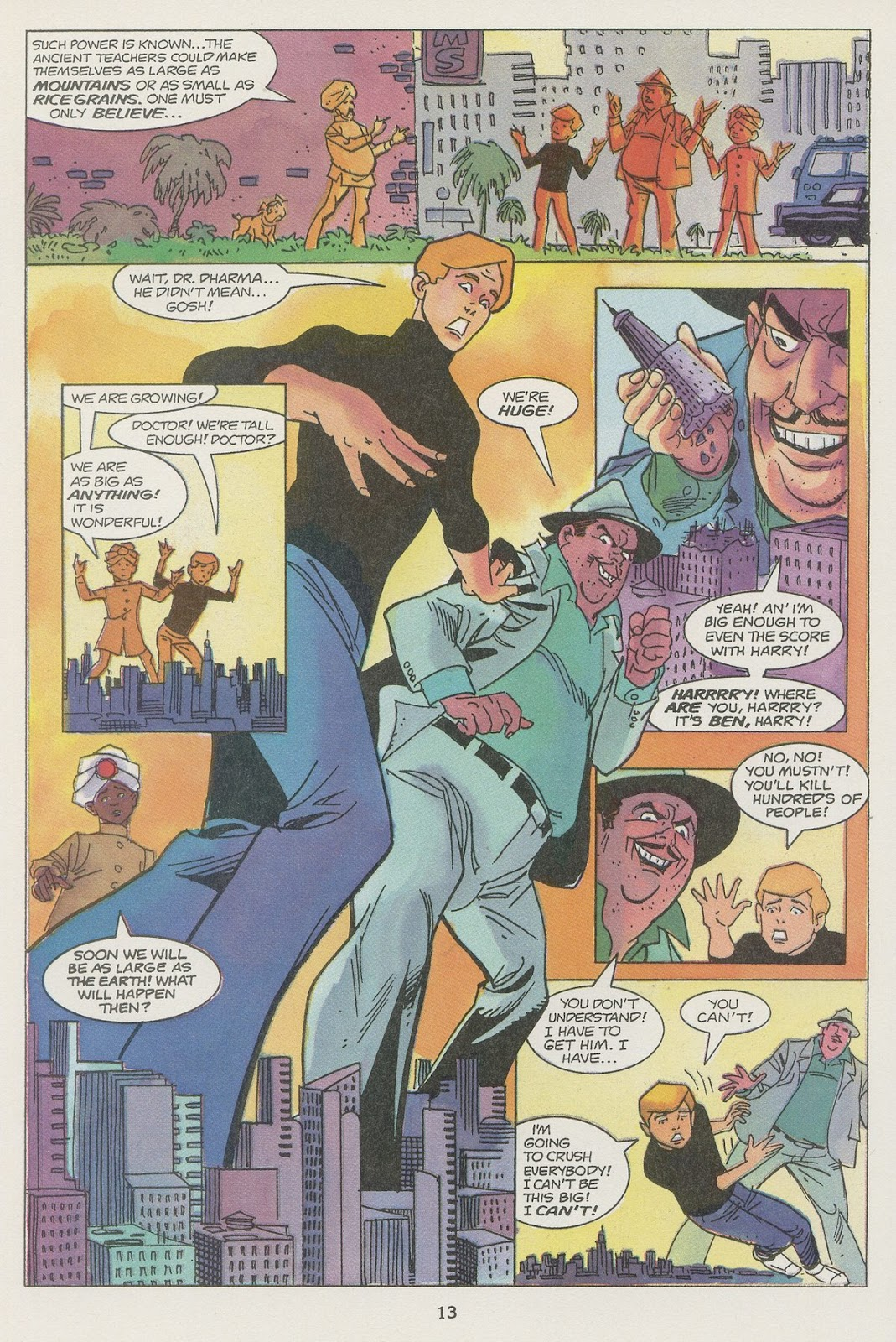 Jonny Quest (1986) issue 19 - Page 15