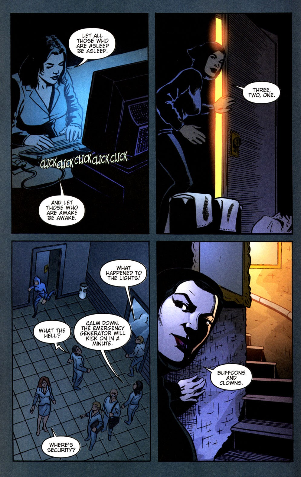Read online Vampire the Masquerade comic -  Issue # Giovanni - 10