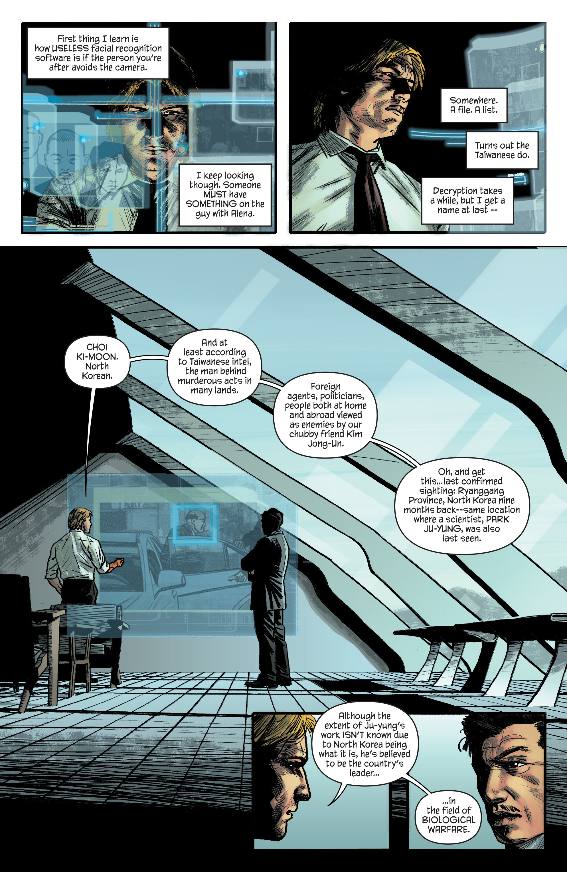 Read online James Bond: Felix Leiter comic -  Issue #4 - 12