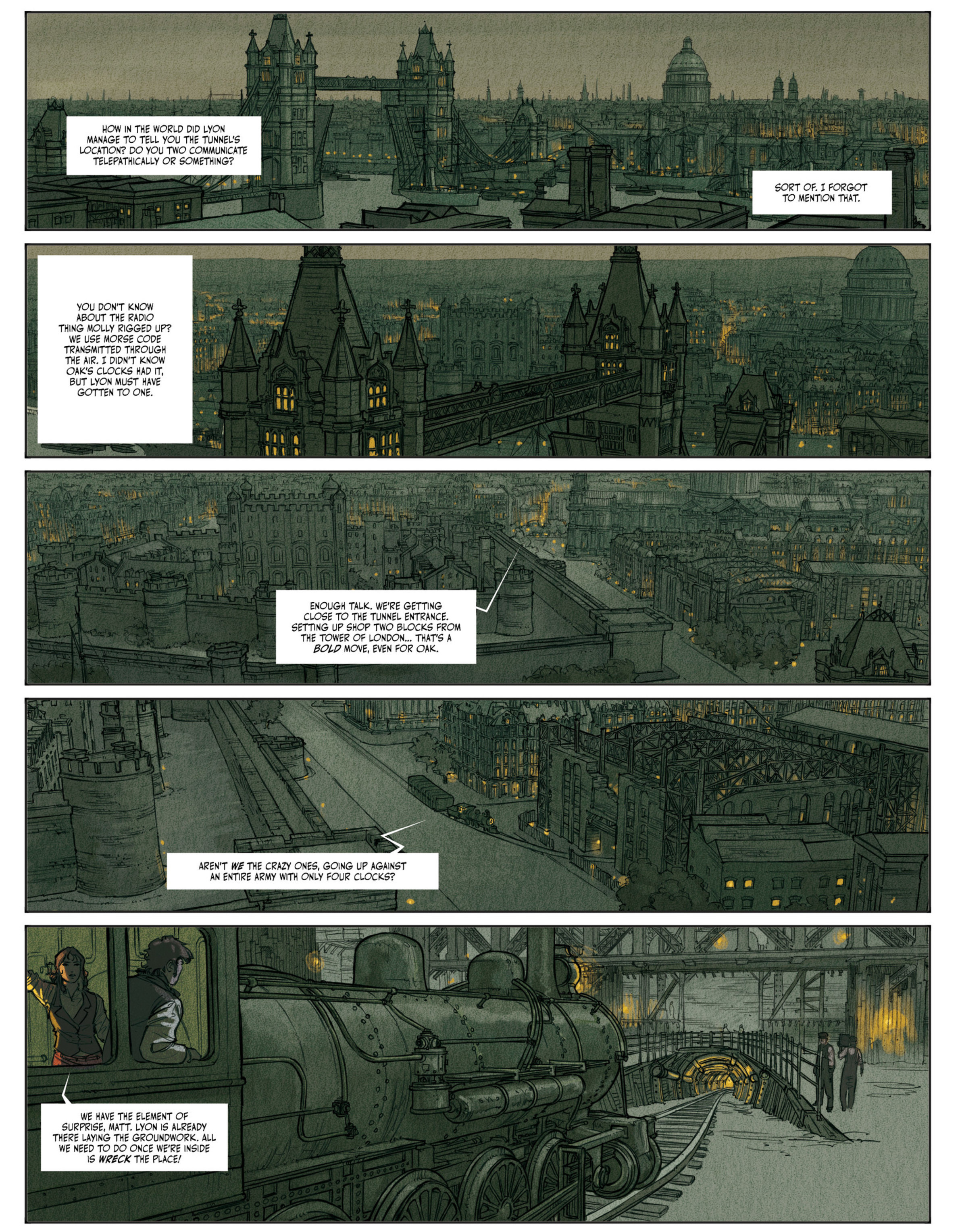 Read online Clockwerx comic -  Issue #2 - 37
