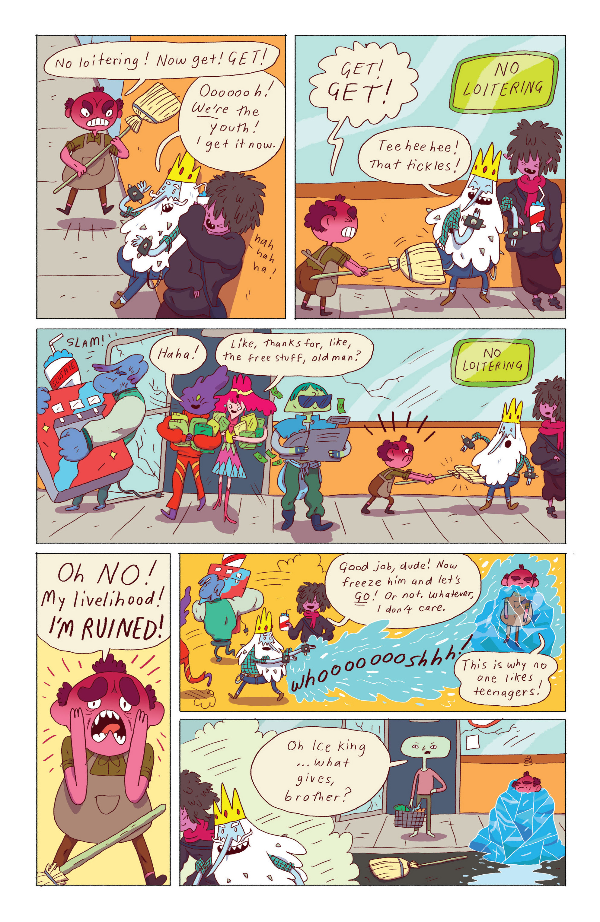 Read online Adventure Time: Ice King comic -  Issue #3 - 17