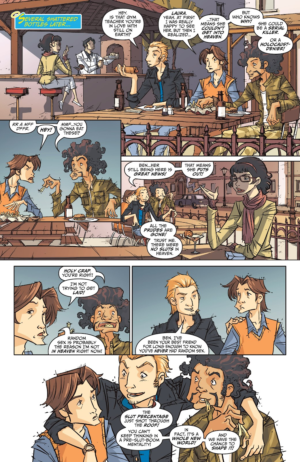 Read online The End Times of Bram and Ben comic -  Issue #1 - 30