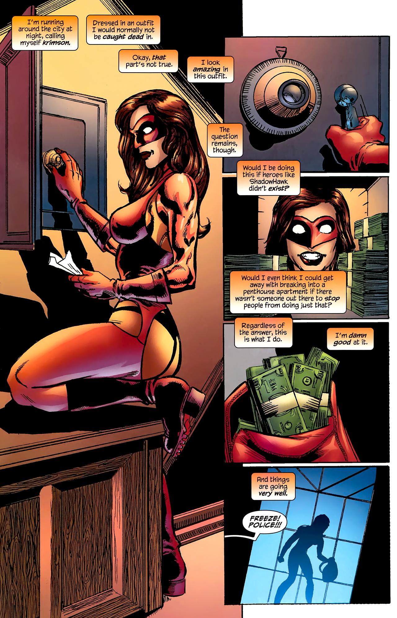 Read online ShadowHawk (2010) comic -  Issue #2 - 24
