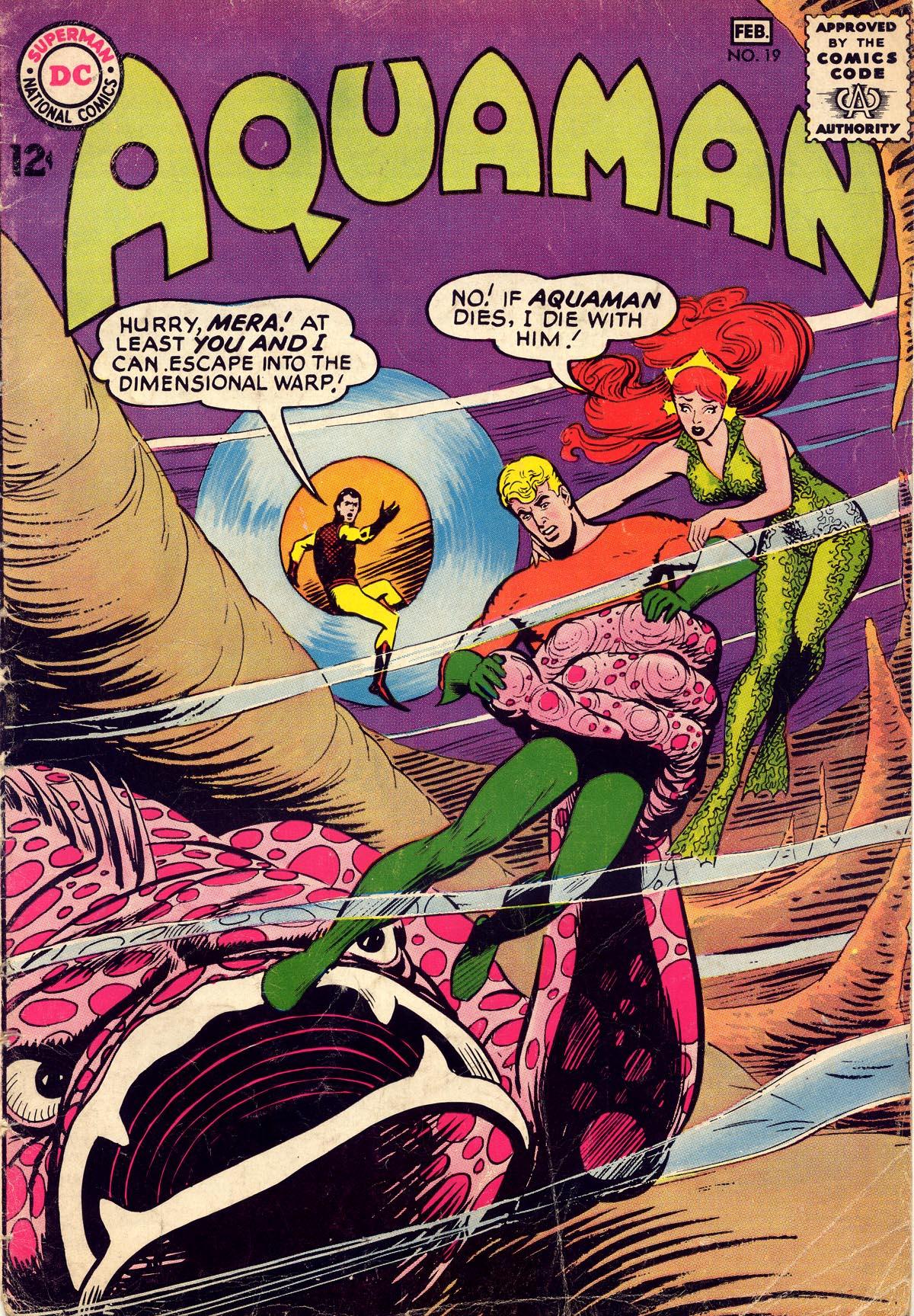 Read online Aquaman (1962) comic -  Issue #19 - 1