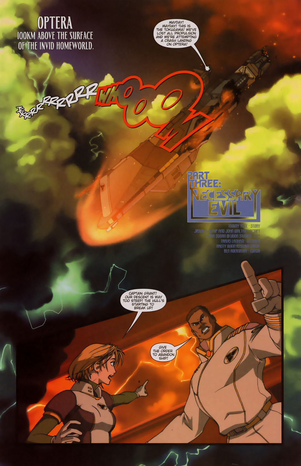 Read online Robotech: Prelude to the Shadow Chronicles comic -  Issue #3 - 2