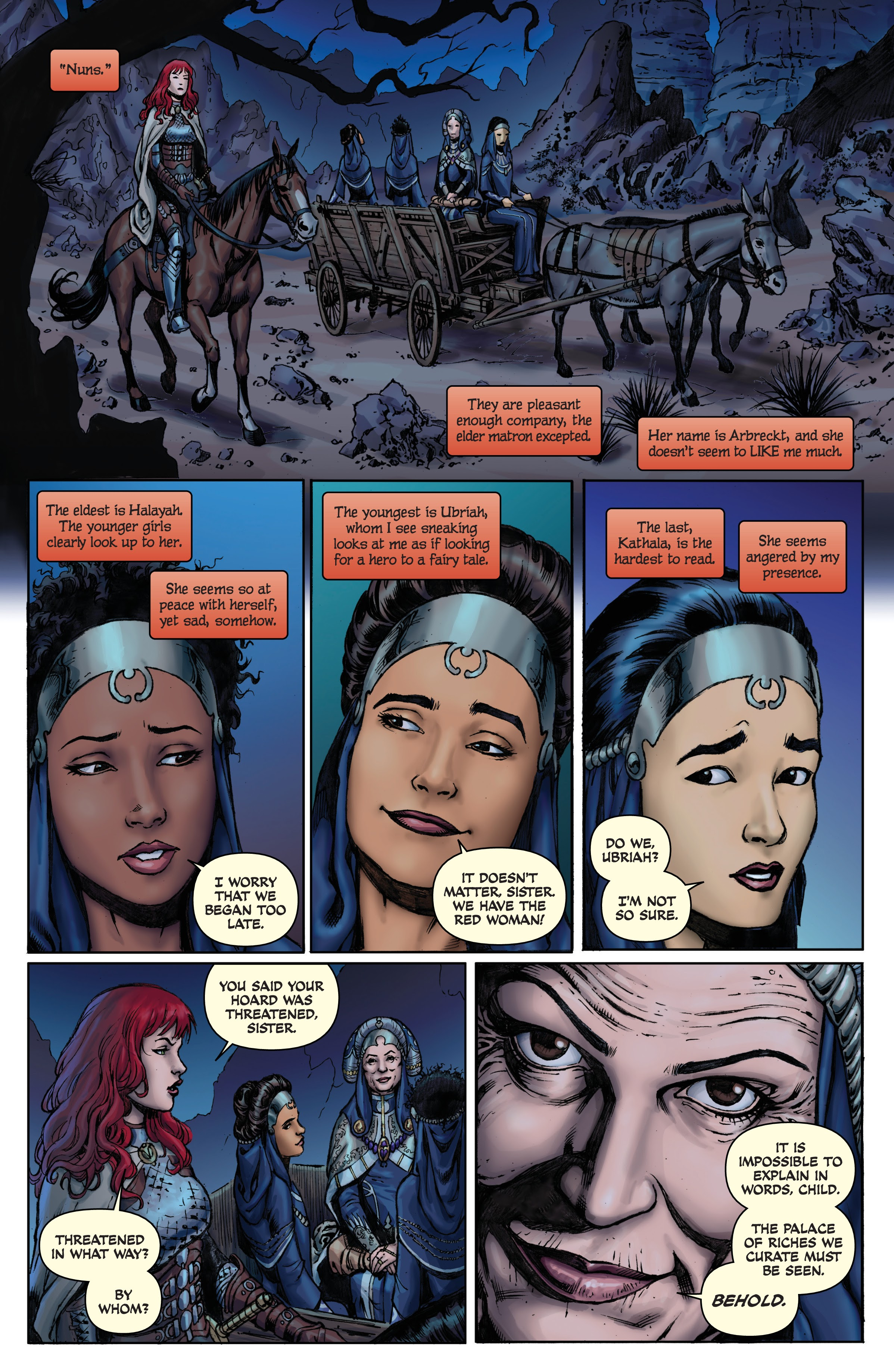Red Sonja (2013) #_TPB_Complete_Gail_Simone_Red_Sonja_Omnibus_(Part_5) #26 - English 13