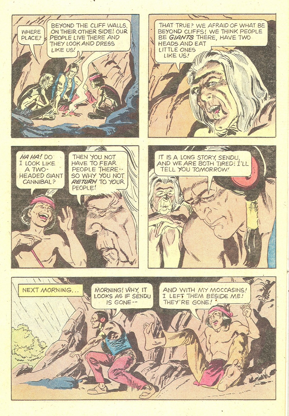 Read online Turok, Son of Stone comic -  Issue #129 - 11