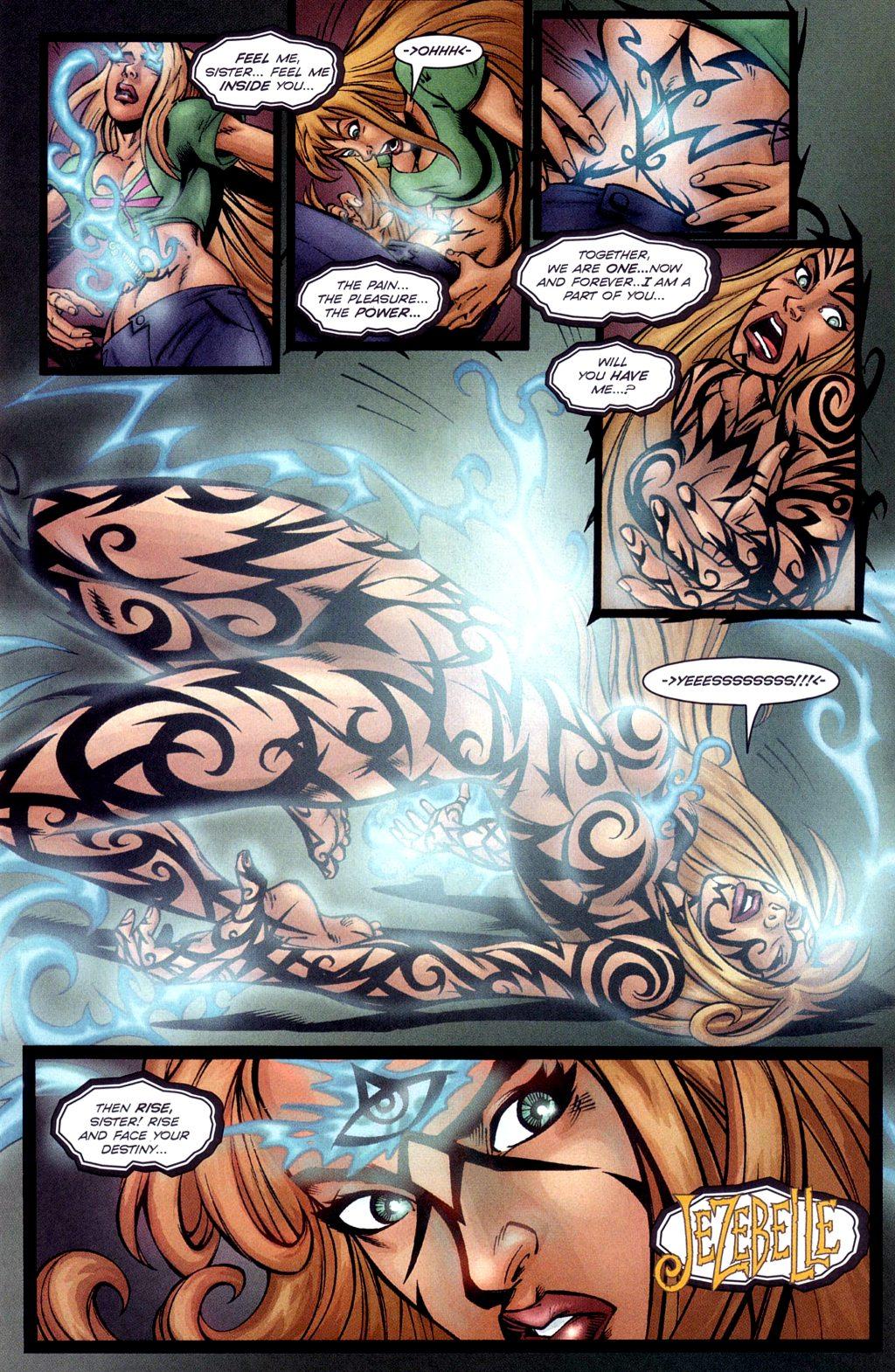 Read online Jezebelle comic -  Issue #3 - 11