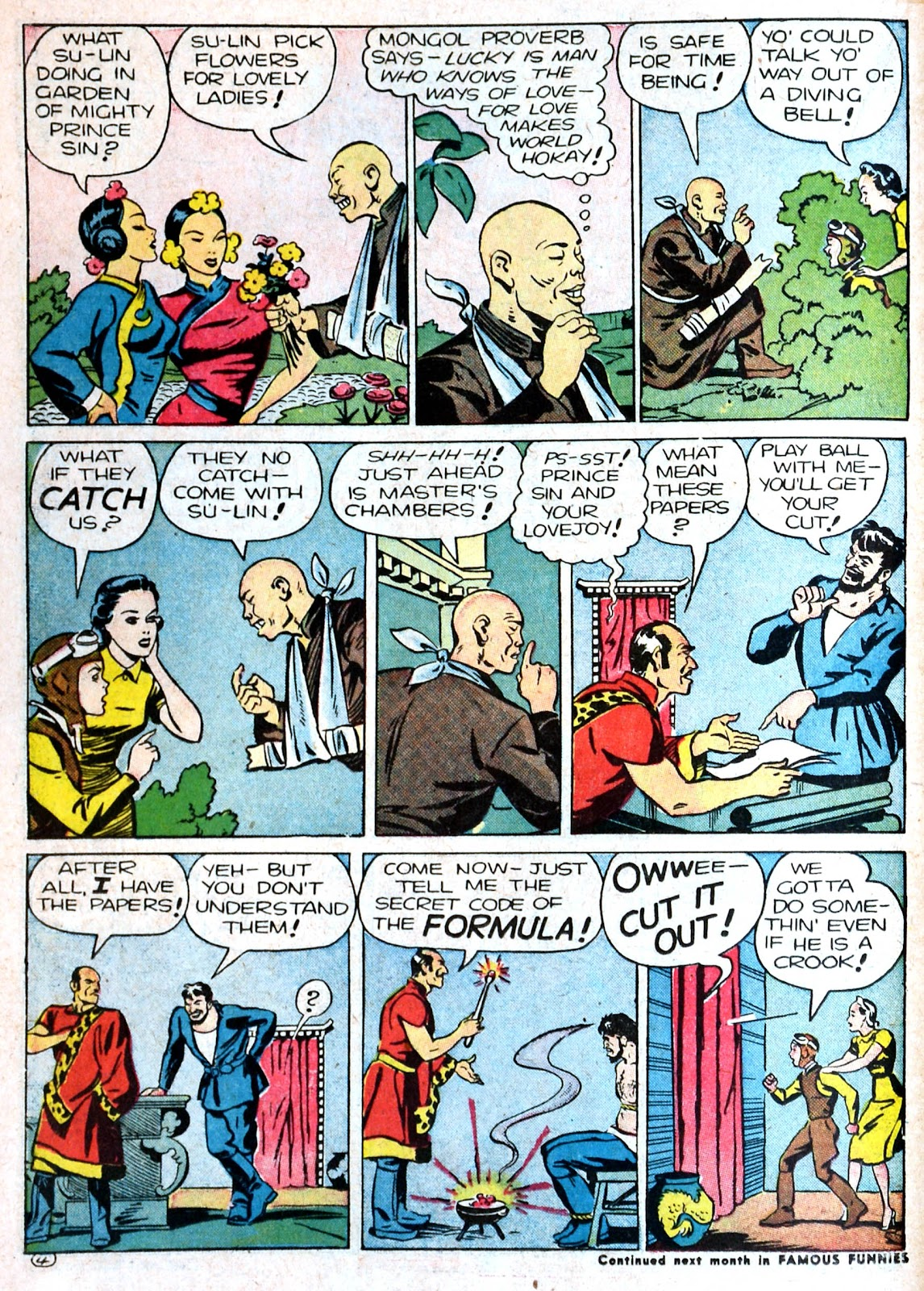 Read online Famous Funnies comic -  Issue #87 - 32