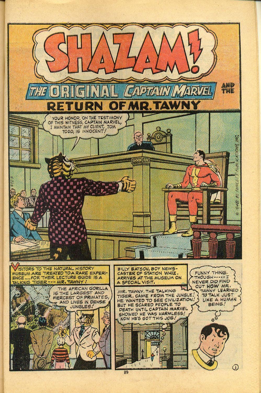 Read online Shazam! (1973) comic -  Issue #8 - 89