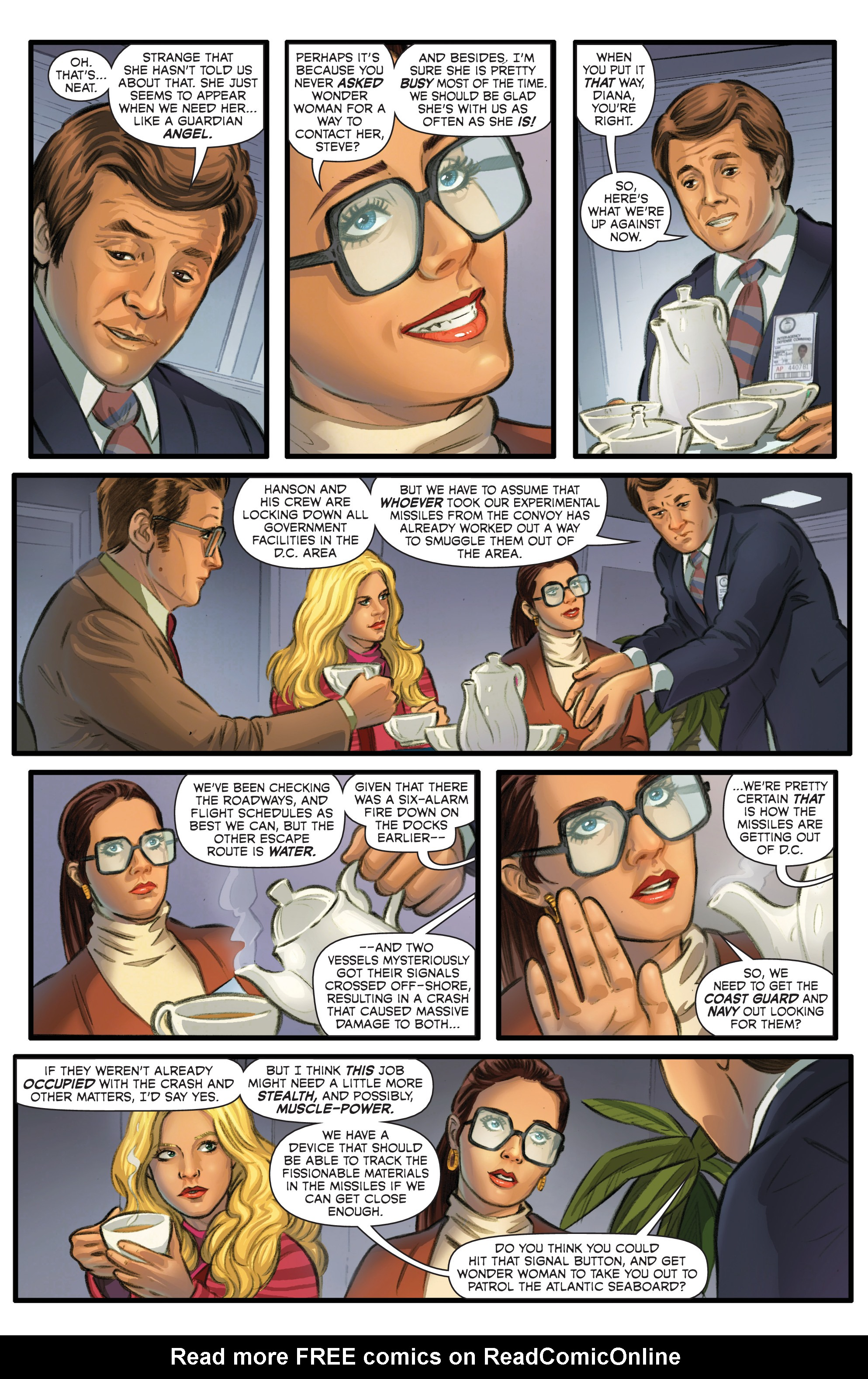 Read online Wonder Woman '77 Meets The Bionic Woman comic -  Issue #2 - 14