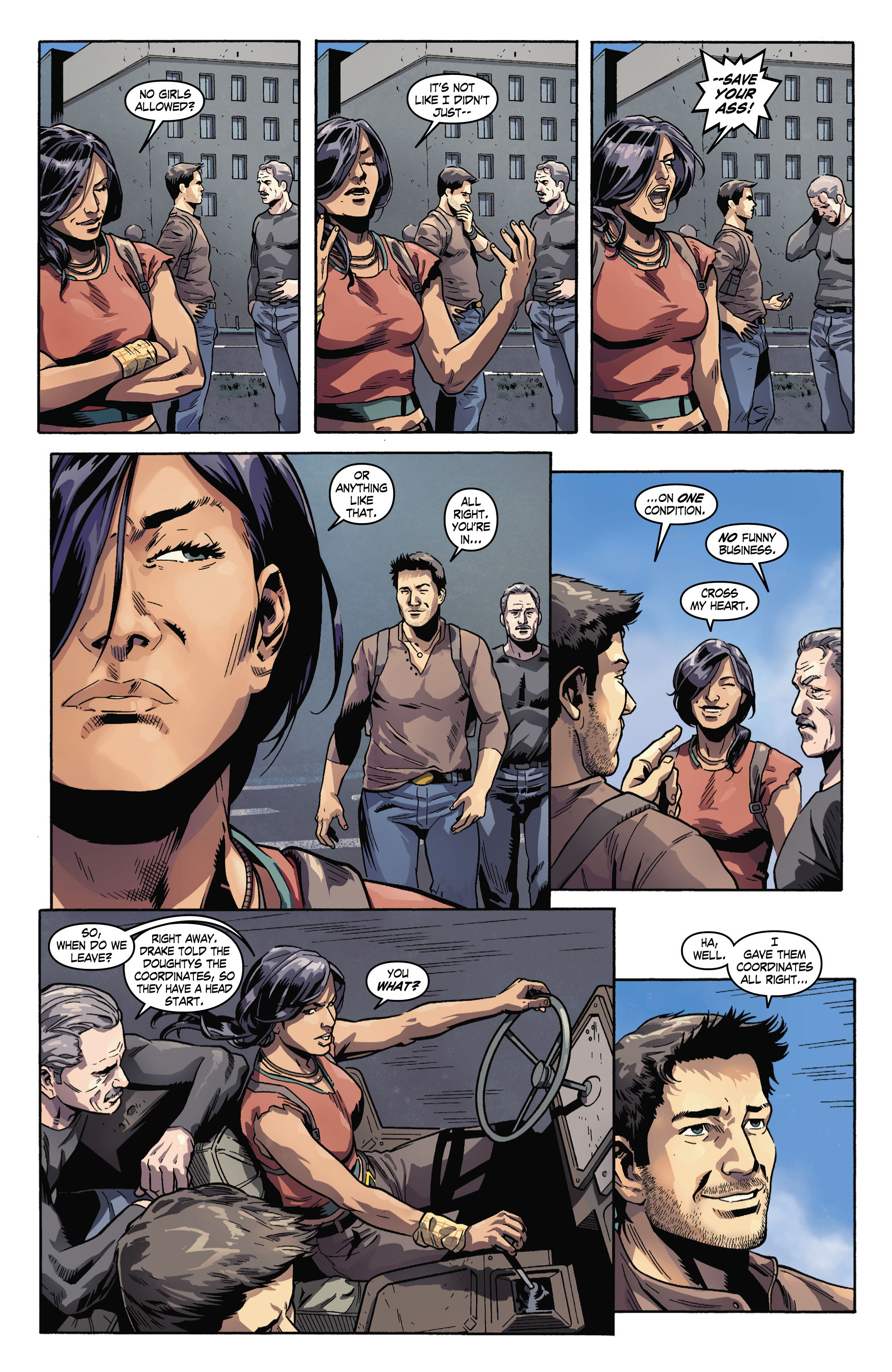 Read online Uncharted comic -  Issue #3 - 11
