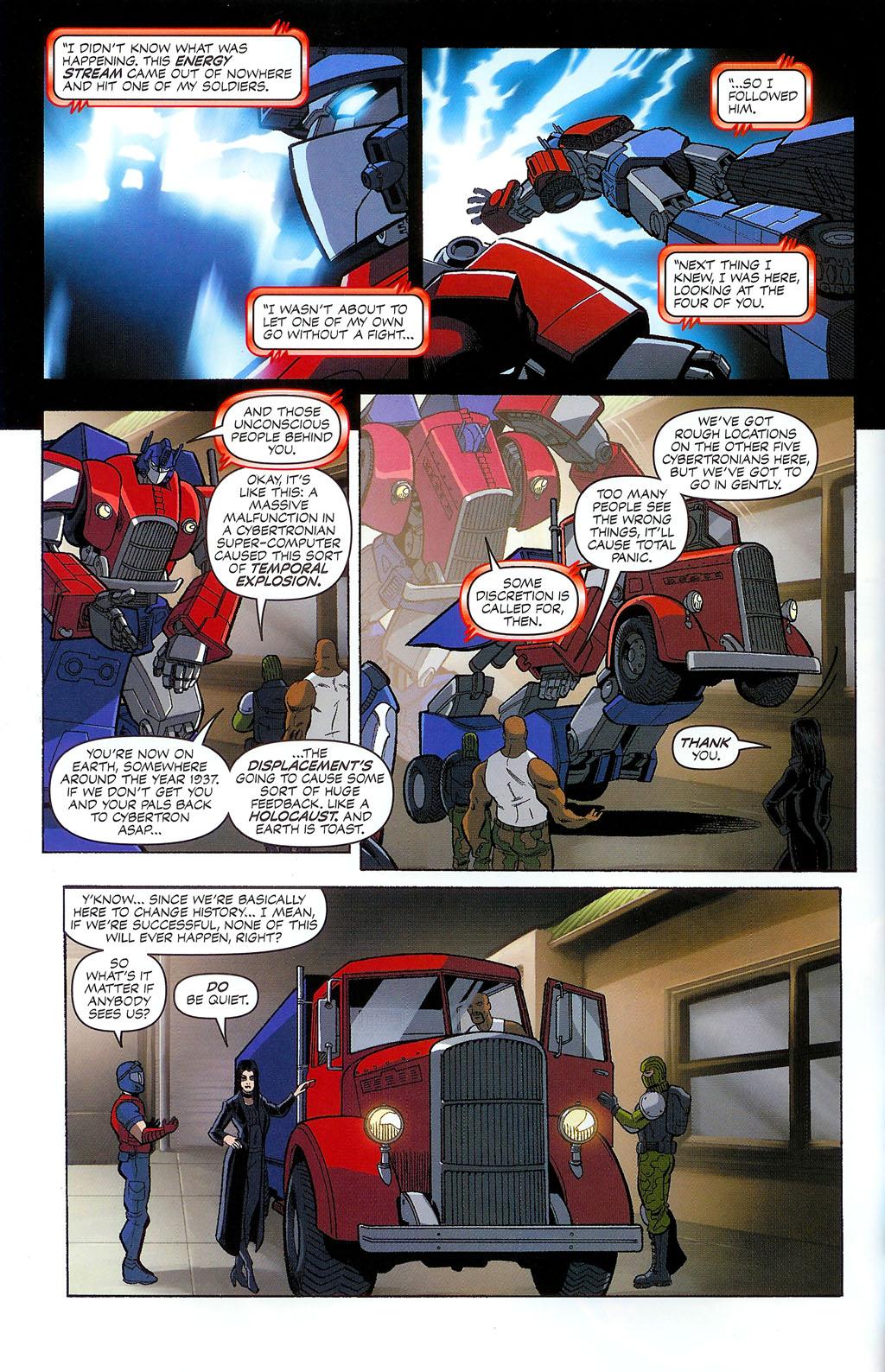 G.I. Joe vs. The Transformers II Issue #2 #3 - English 10