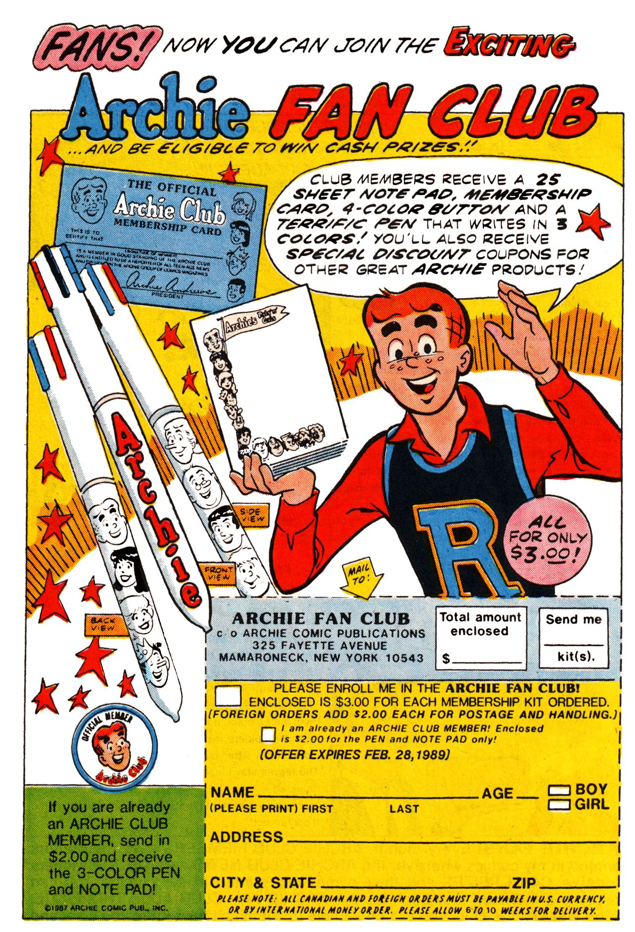 Read online Archie (1960) comic -  Issue #361 - 29