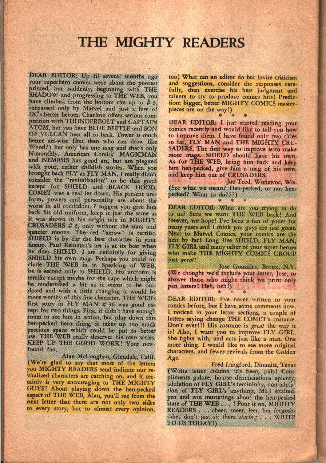 The Mighty Crusaders (1965) Issue #5 #5 - English 27