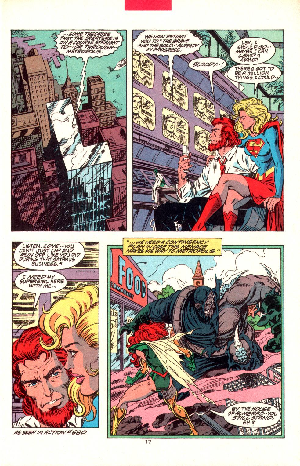 Read online Adventures of Superman (1987) comic -  Issue #497 - 19