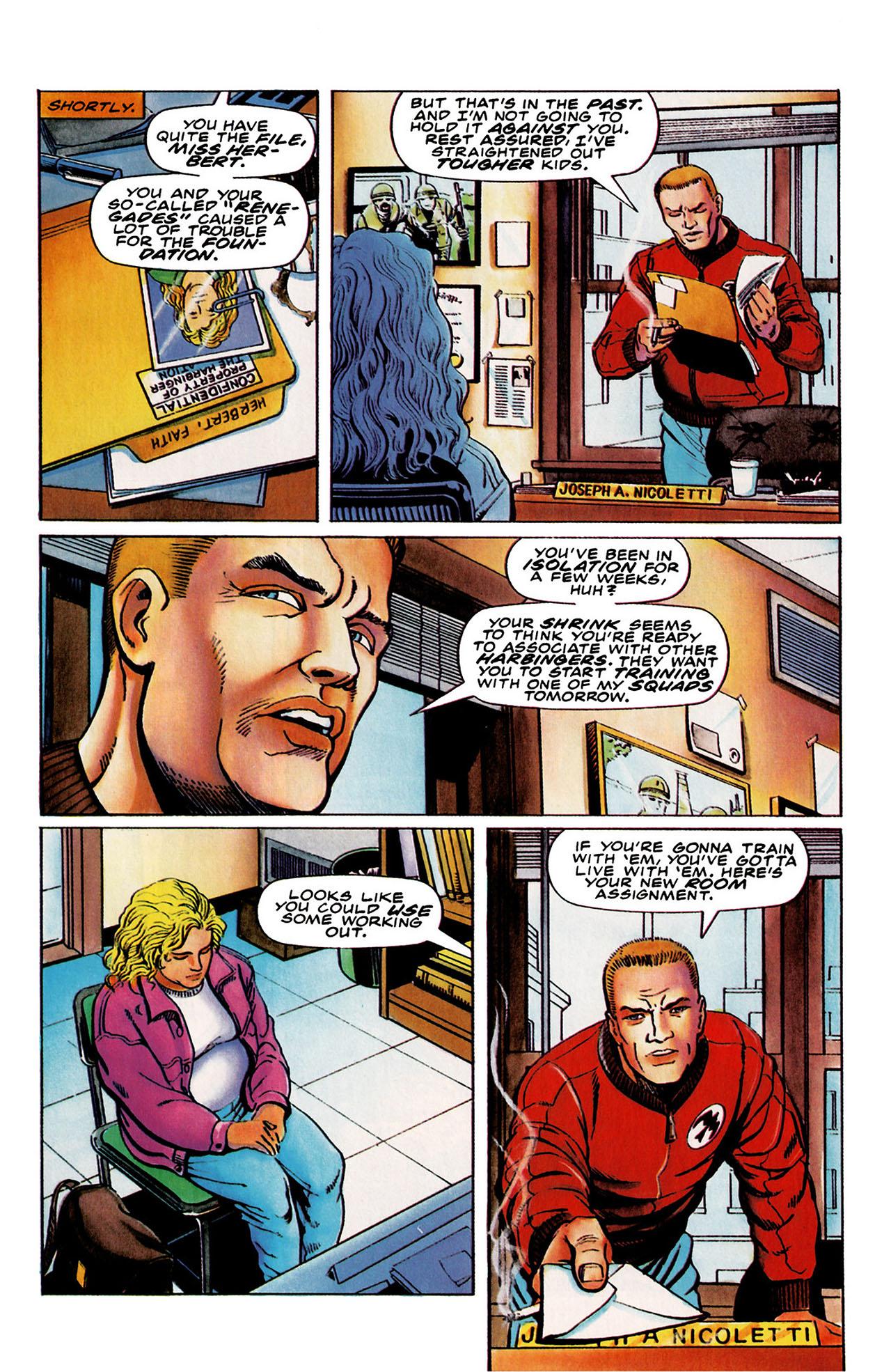 Read online Harbinger (1992) comic -  Issue #26 - 7