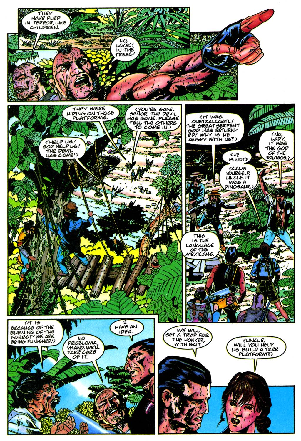 Read online Turok, Dinosaur Hunter (1993) comic -  Issue #28 - 8