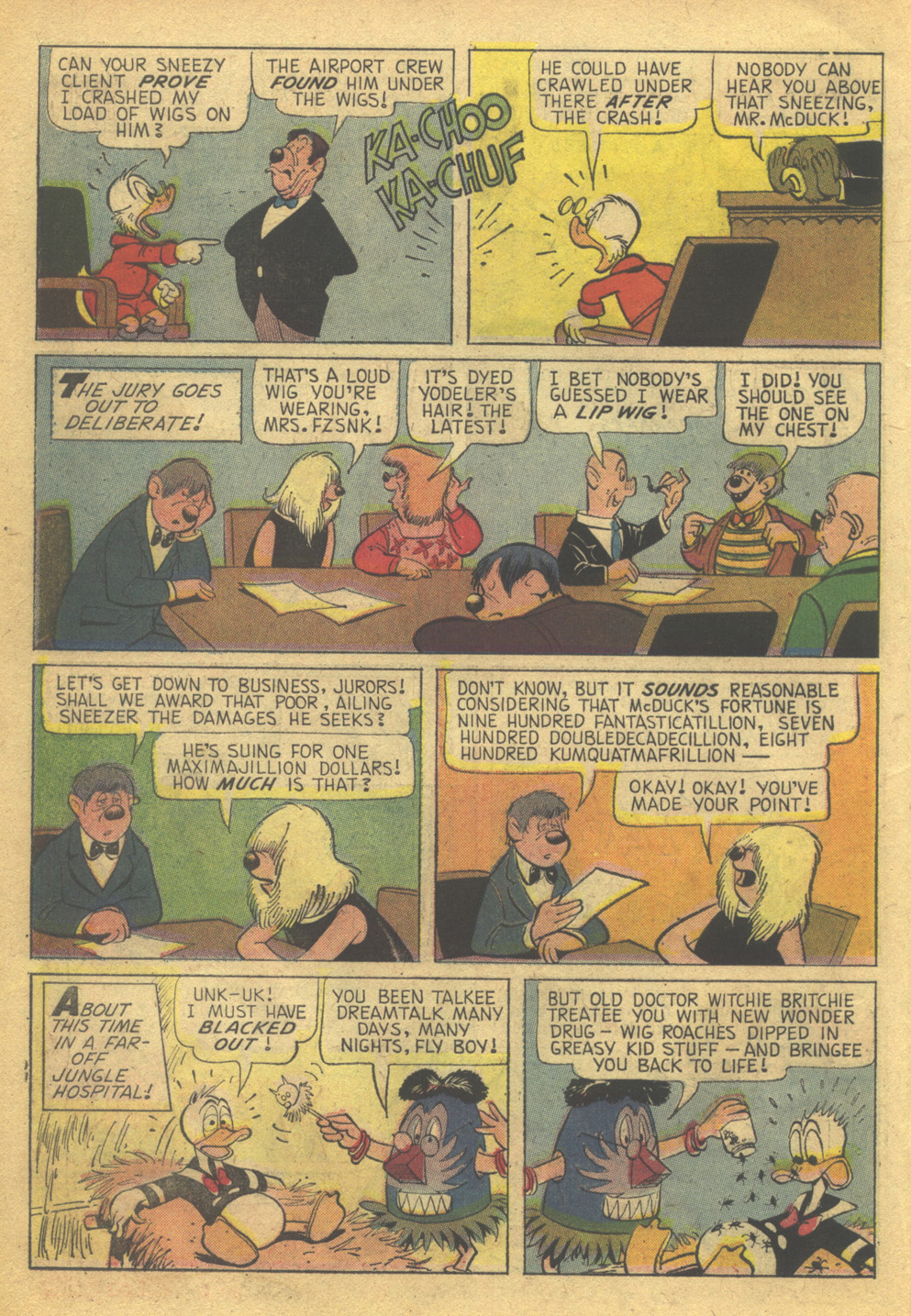 Read online Uncle Scrooge (1953) comic -  Issue #85 - 10