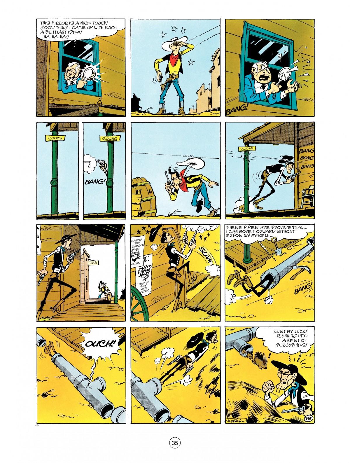 Read online A Lucky Luke Adventure comic -  Issue #40 - 35