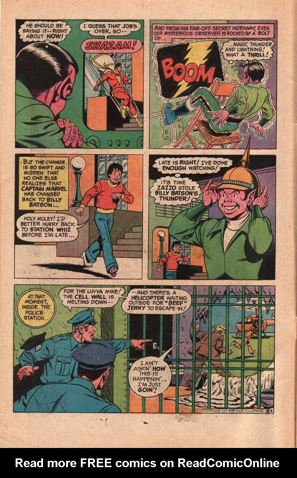 Read online Shazam! (1973) comic -  Issue #19 - 6
