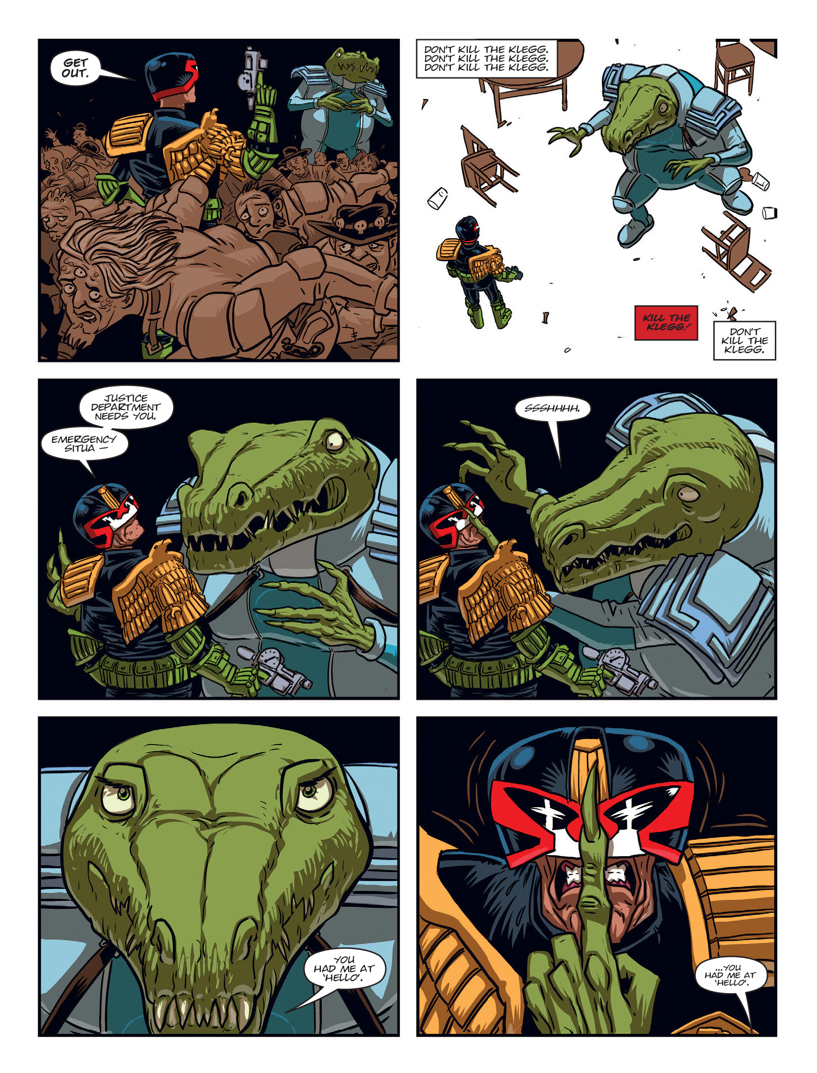 Read online 2000 AD comic -  Issue #1970 - 5
