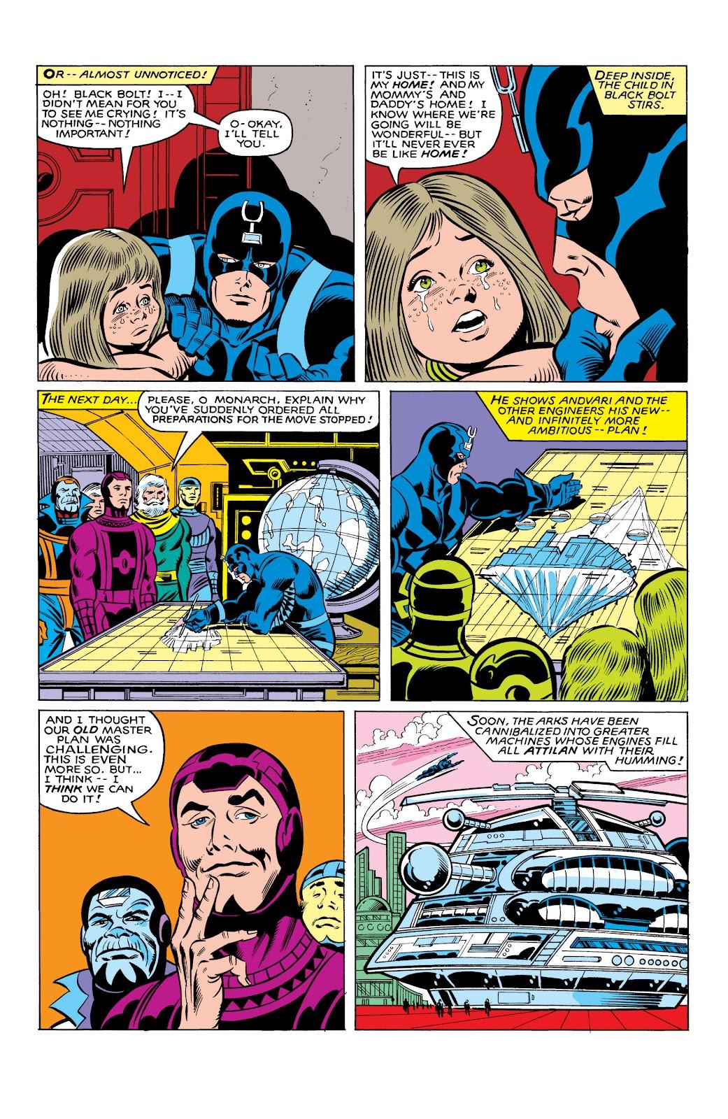 Read online Marvel Masterworks: The Inhumans comic -  Issue # TPB 2 (Part 3) - 92