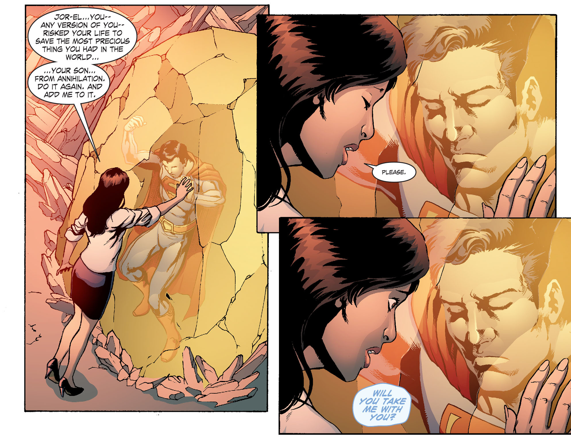 Read online Smallville: Chaos [II] comic -  Issue #6 - 15