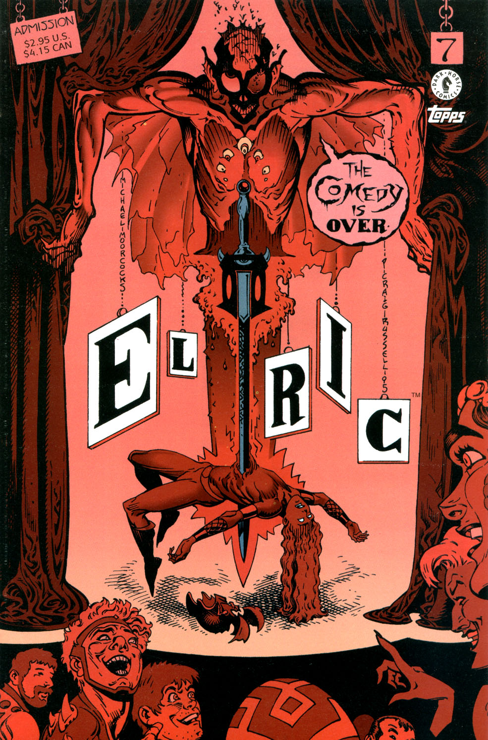 Read online Elric: Stormbringer comic -  Issue #7 - 1