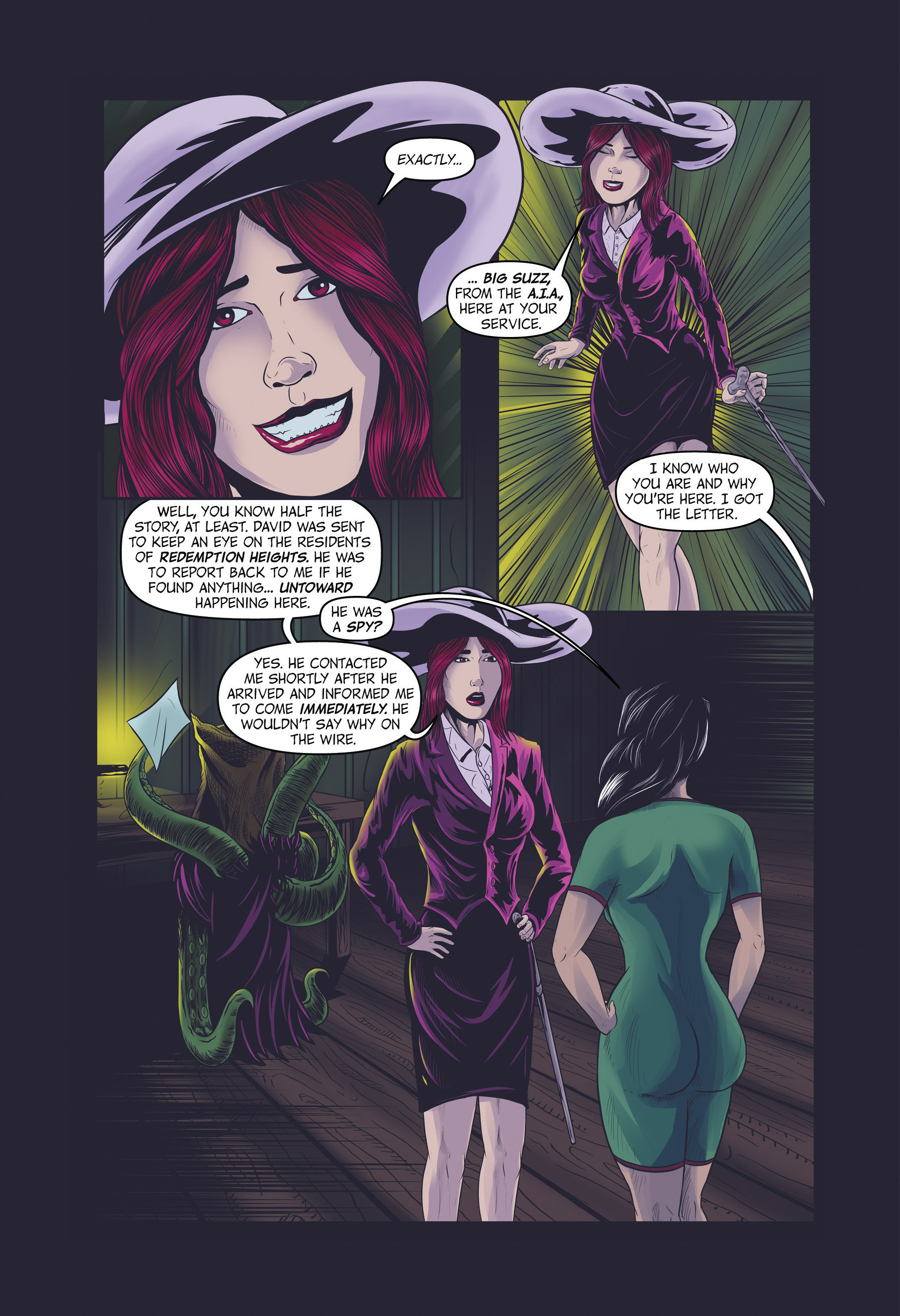 Read online Redemption Heights comic -  Issue # Full - 65