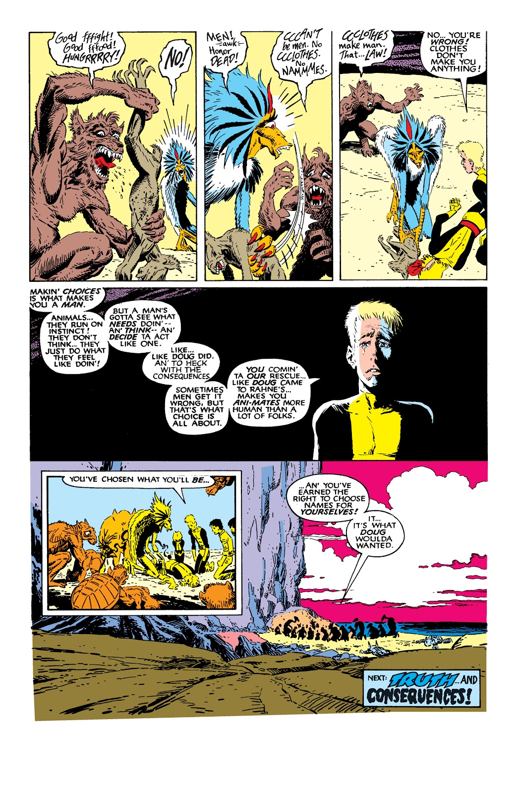 Read online X-Men Milestones: Fall of the Mutants comic -  Issue # TPB (Part 2) - 56