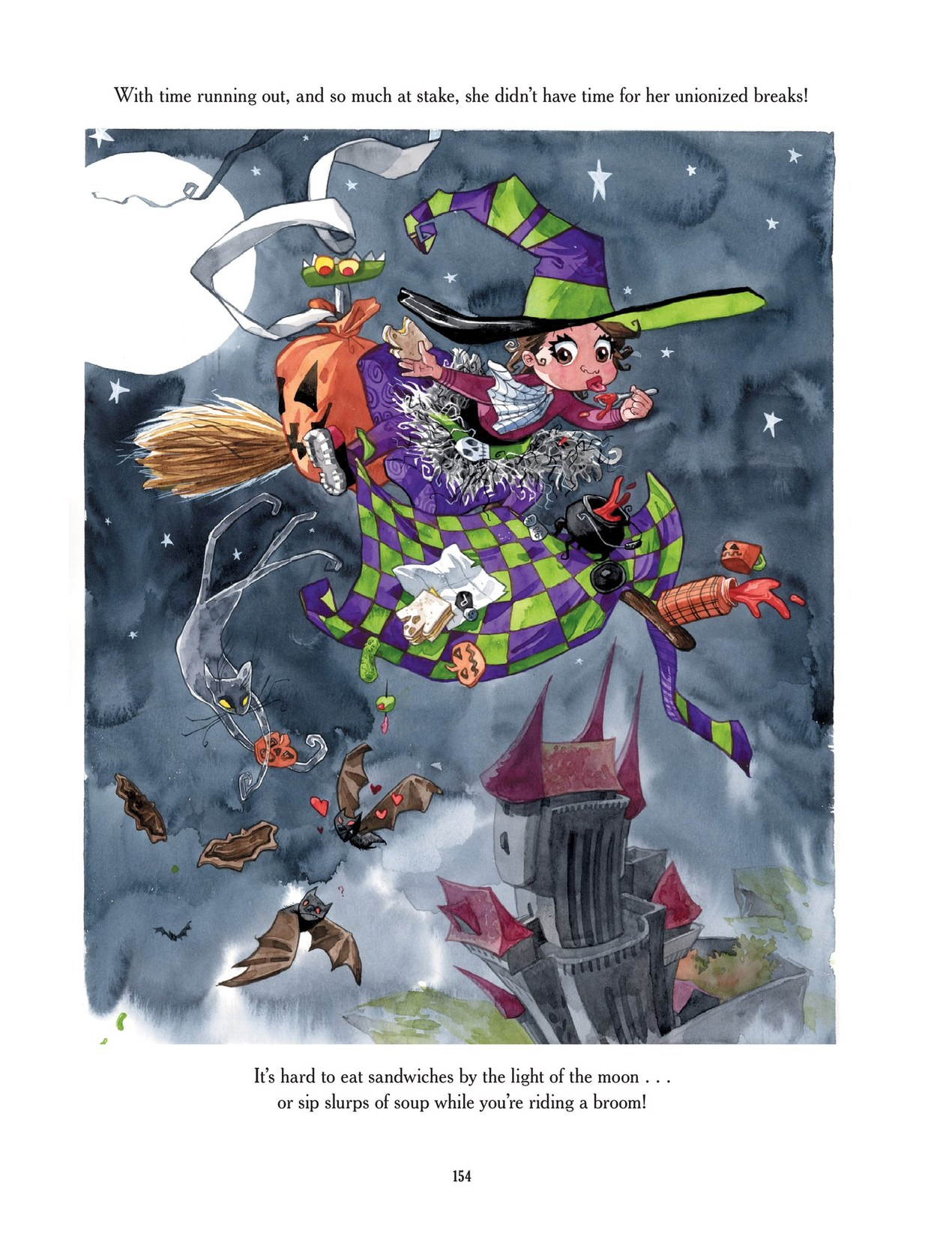 Read online Scary Godmother comic -  Issue # TPB - 154
