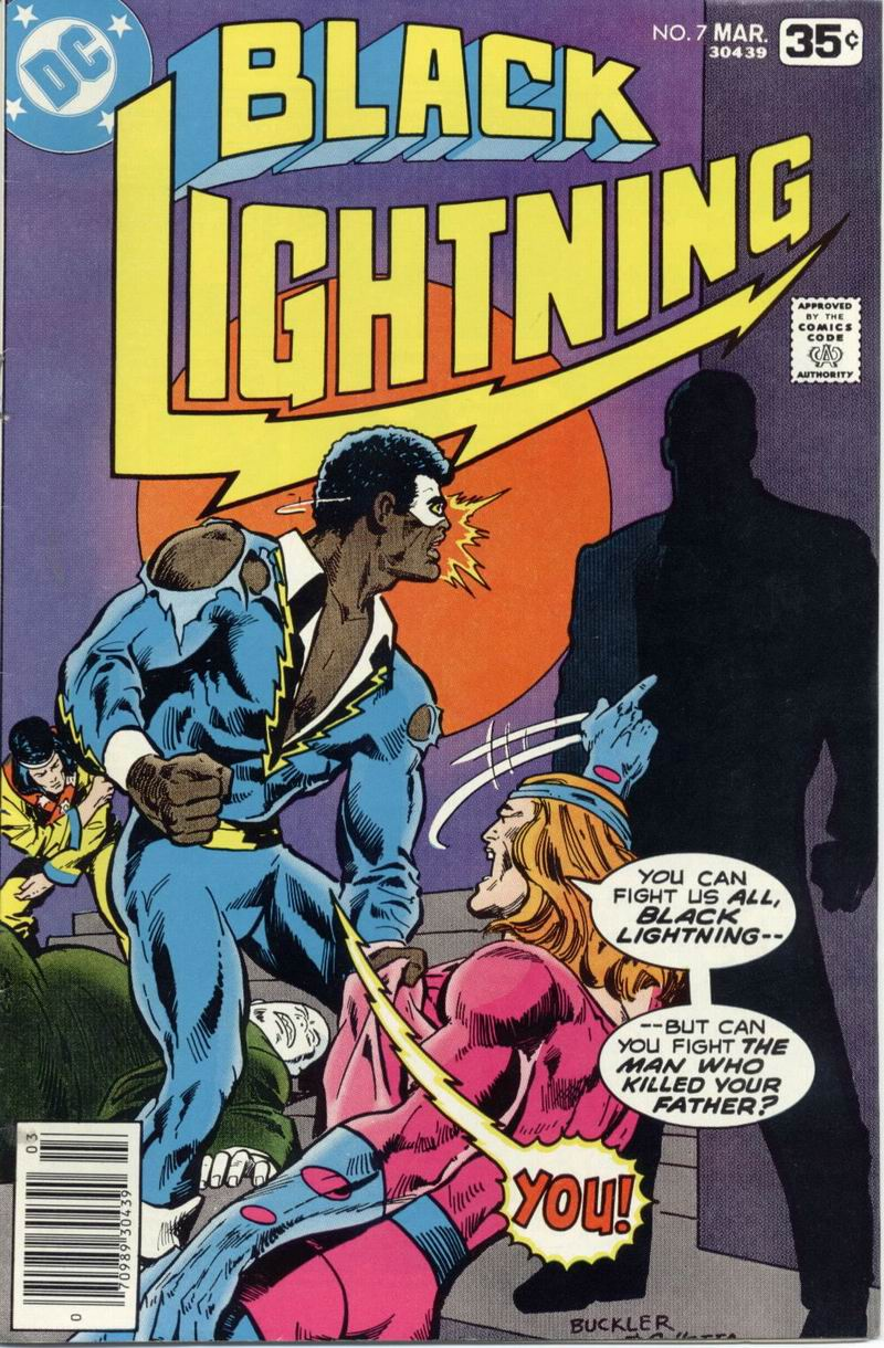 Black Lightning (1977) issue 7 - Page 1