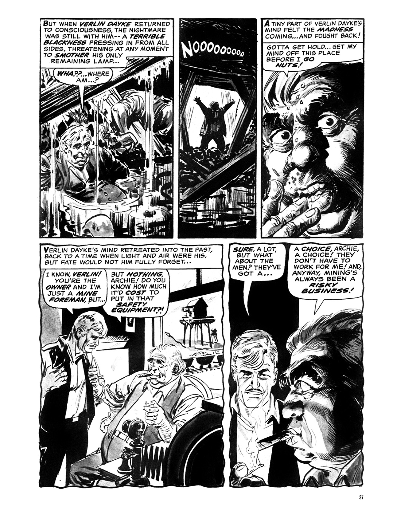 Read online Eerie Archives comic -  Issue # TPB 6 - 38