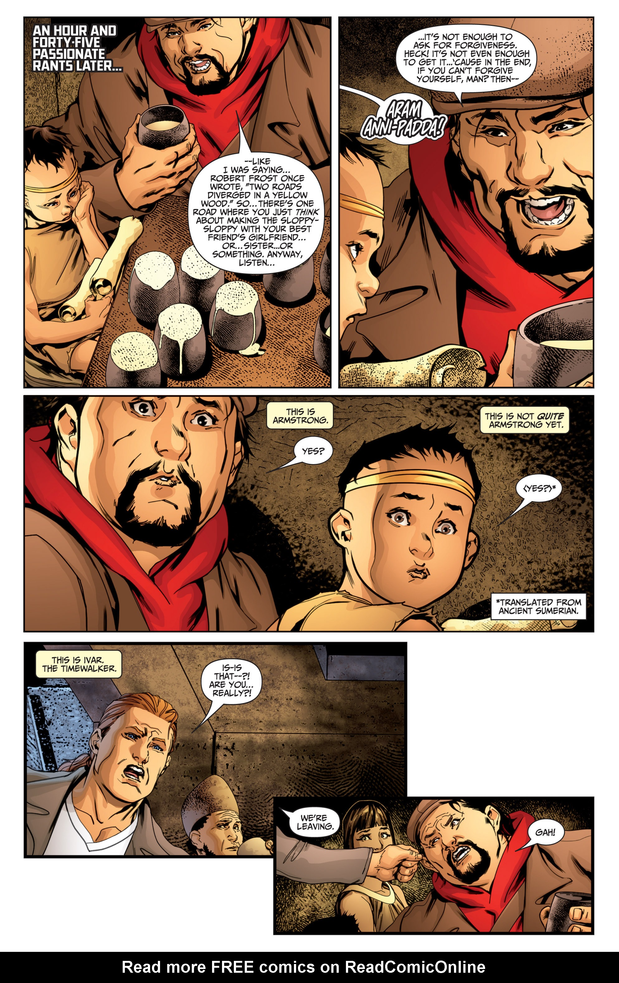 Read online Archer and Armstrong comic -  Issue #Archer and Armstrong _TPB 7 - 44