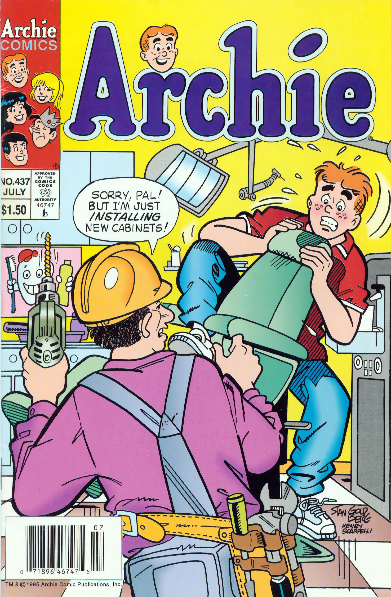 Read online Archie (1960) comic -  Issue #437 - 1