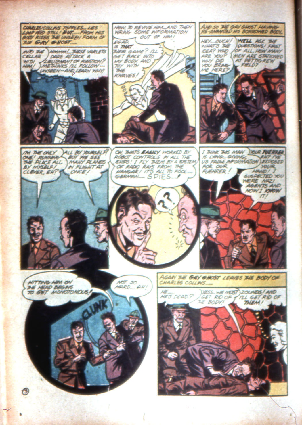 Read online Sensation (Mystery) Comics comic -  Issue #16 - 28