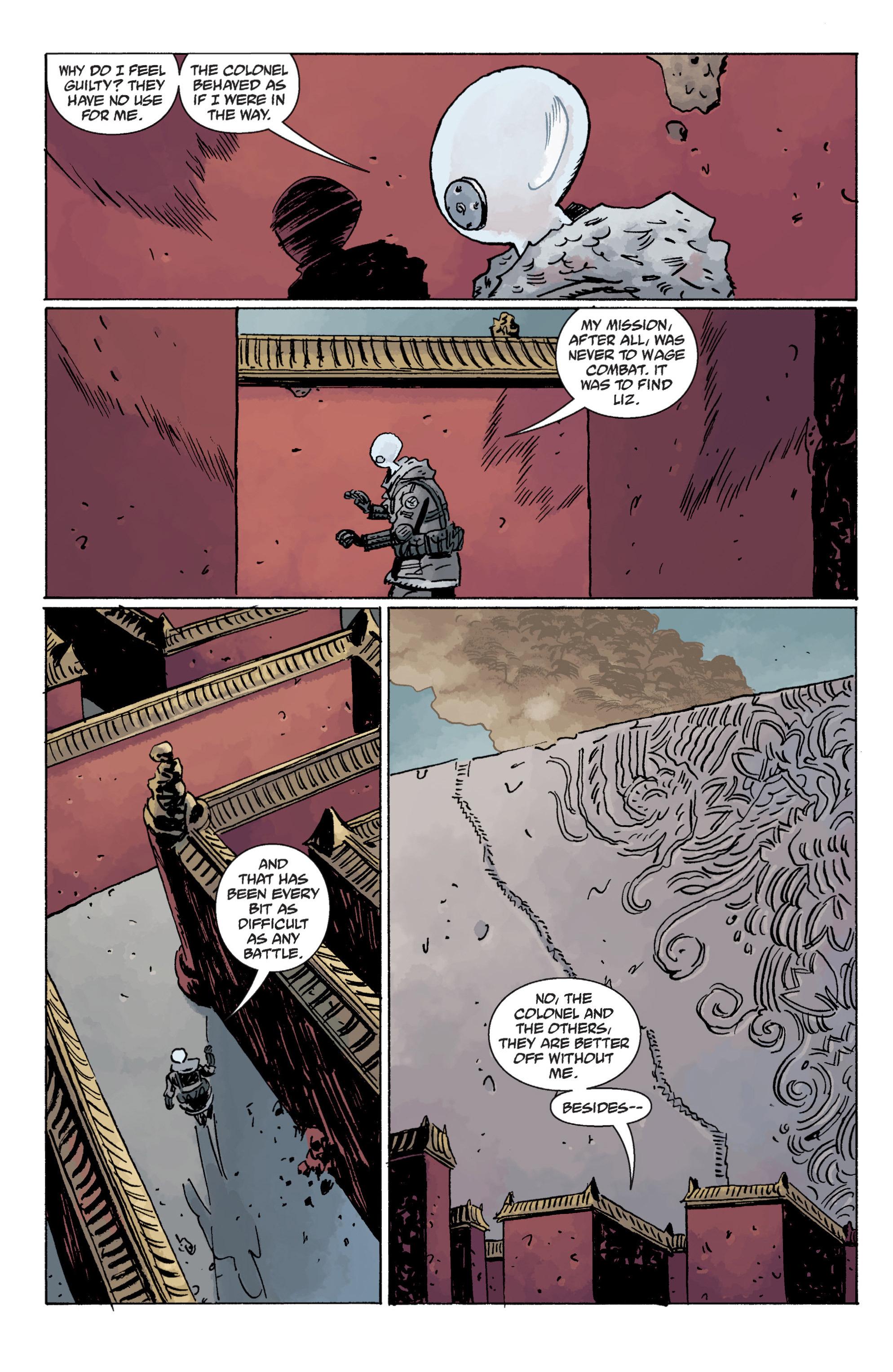 Read online B.P.R.D. (2003) comic -  Issue # TPB 11 - 84